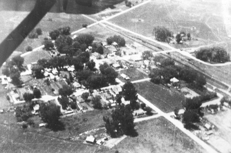 Aerial View of Niwot - 1947