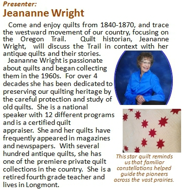 Presented by Jeananne Wright